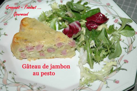 Gâteau de jambon au pesto - DSC_0660_8619