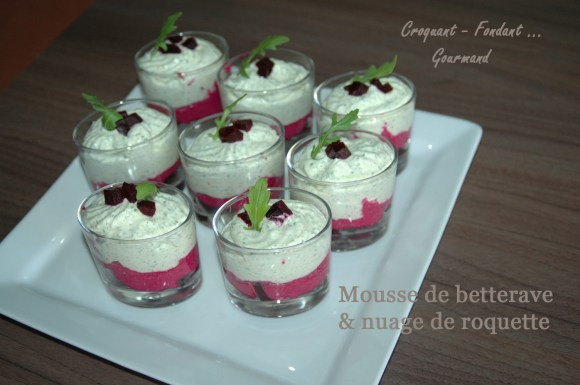 Mousse de betterave&nuage de roquette-DSC_1337_9272