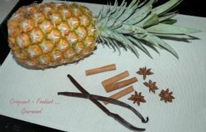 Ananas épicé en papillote - DSC_4151_12324