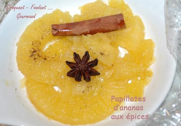 Papillotes d'ananas aux épices - DSC_4165_12338