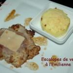 Escalopes de veau à l'Emilienne -DSC_4736_13082