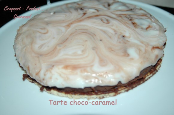 Tarte choco-caramel - DSC_5150_13503