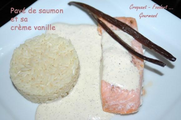 Pavés de saumon, crème vanille - DSC_6447_14836