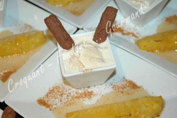 Ananas rôti et glace au pain d'épices -DSC_8157_16665