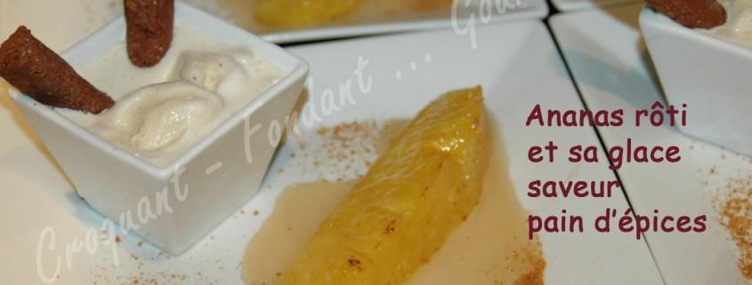 Ananas rôti et glace au pain d'épices - DSC_8160_16668