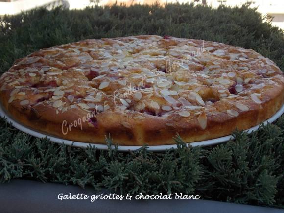 Galette griottes & chocolat blanc DSCN4110