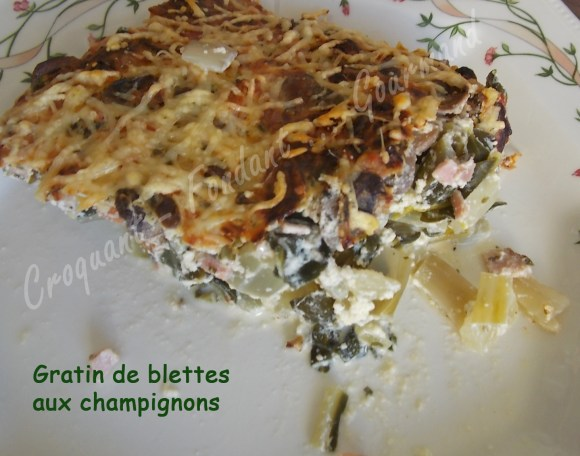 Gratin de blettes aux champignons DSCN2014_31677