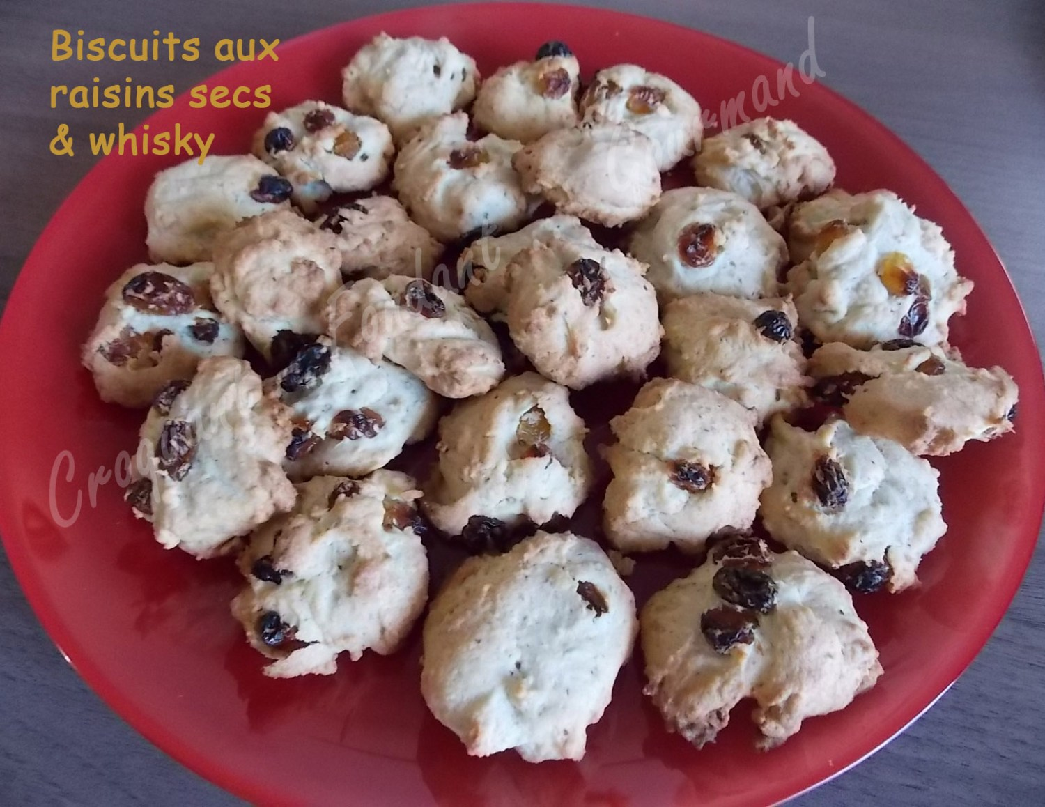 Biscuits aux raisins secs & whiskyDSCN2344_32037