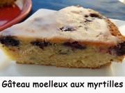 Gâteau moelleux aux myrtilles Index DSCN9534