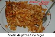Gratin de pâtes Index - septembre 2008 023 copie