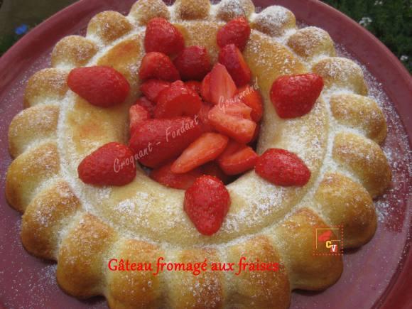Gâteau fromagé aux fraises Culino version  IMG_5393_33207