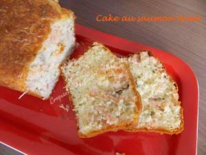 Cake au saumon fumé DSCN5630_36398