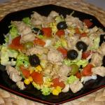 à vous de jouer salade au poulet ma Lolo P1050933