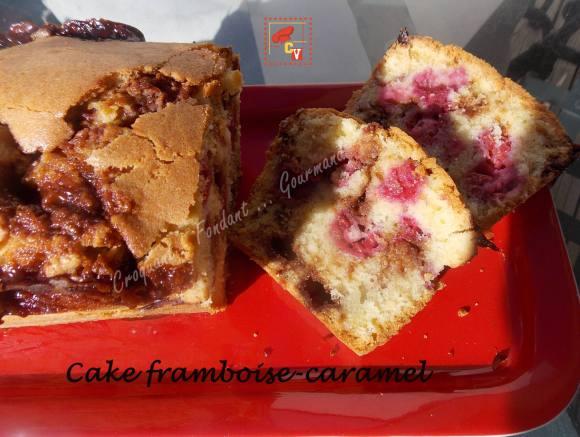 Cake framboise-caramel CV DSCN6496