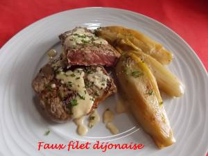 Faux filet dijonnaise DSCN7190