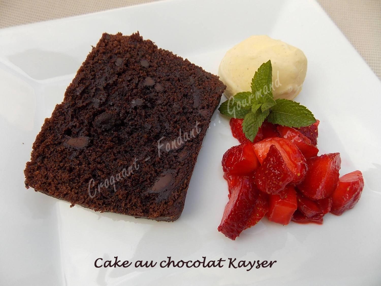 Cake au chocolat Kayser DSCN8148