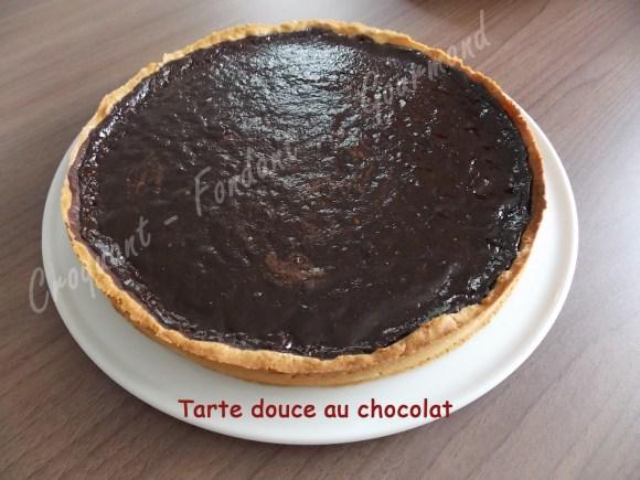 Tarte douce au chocolat DSCN1610_21488