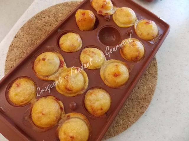 Cake Chorizo Olives Parmesan