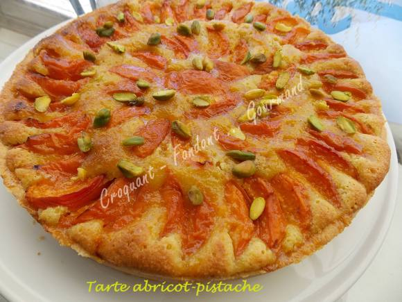Tarte abricot-pistache DSCN8972