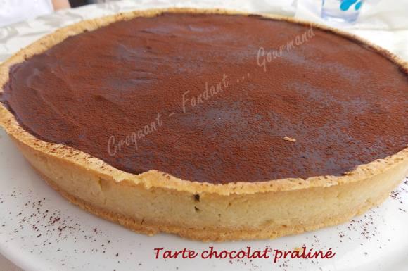 Tarte chocolat praliné DSCN9069