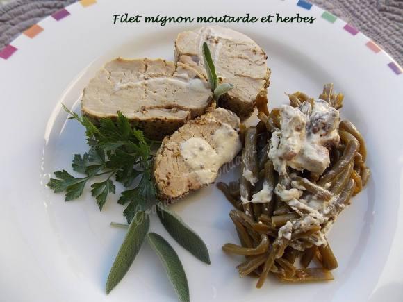 Filet mignon moutarde et herbes DSCN0025