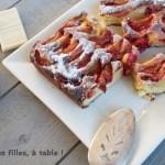 Moelleux prunes-chocolat blanc à vous de jouer les filles à table img_7328