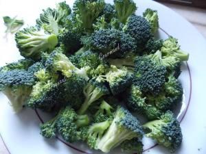 Saint Jacques sur clafoutis de brocolis       013