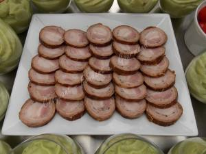 Andouille apéritif et verrine avocat DSCN1155
