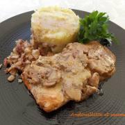 Andouillette et saumon DSCN1018