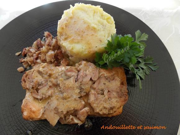 Andouillette et saumon DSCN1020