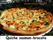 Quiche saumon-brocolis Index P1010584