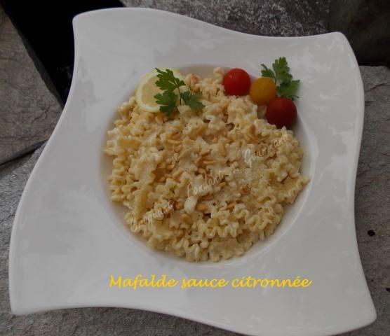 Mafalde sauce citronnée DSCN6132
