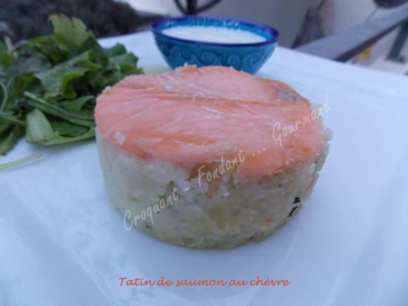 Tatins de saumon au chèvre DSCN9124