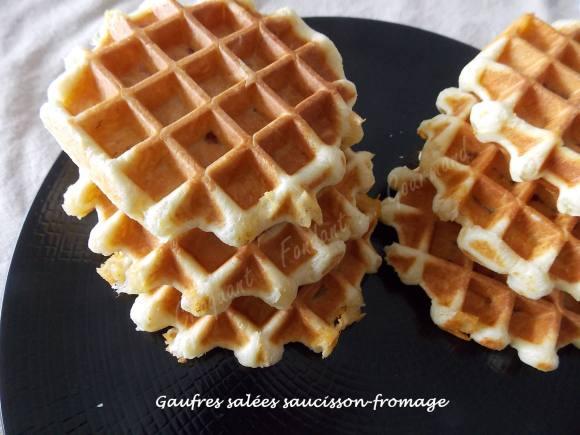 Gaufres salées saucisson-fromage DSCN2679