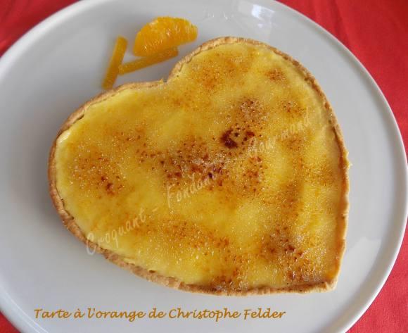 Tarte à l'orange de Christophe Felder DSCN2594