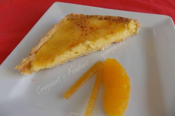 Tarte à l'orange de Christophe Felder DSCN2596