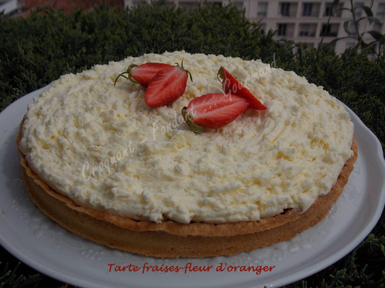 Tarte fraises-fleur d'oranger DSCN3669