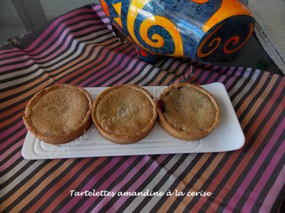 Tartelettes amandine à la ceriseDSCN3943