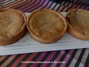 Tartelettes amandine à la ceriseDSCN3944