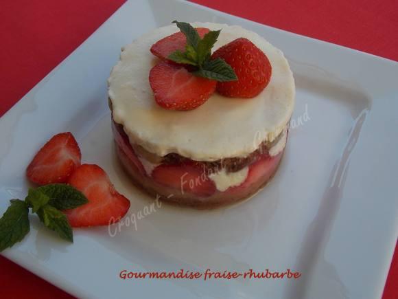 Gourmandise fraise-rhubarbe DSCN5003