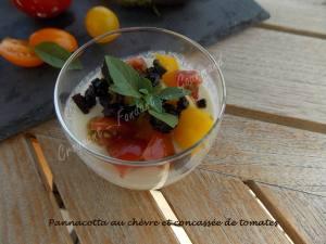 Pannacotta au chèvre et concassée de tomates DSCN5291