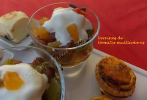 Verrines de tomates multicolores-Chantilly de mozzarella DSCN5413