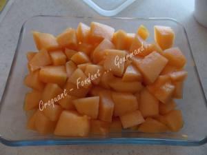 Mousse de melon à la framboise DSCN5601