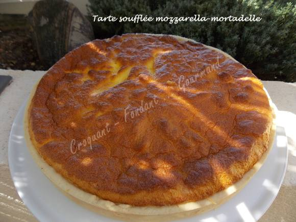 Tarte soufflée mozzarella-mortadelle DSCN5842