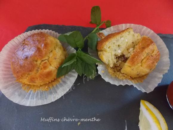 Muffins chèvre-menthe DSCN5924