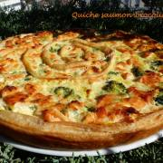 Quiche saumon-brocolis P1010584