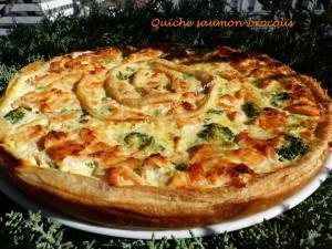 Quiche saumon-brocolis P1010584