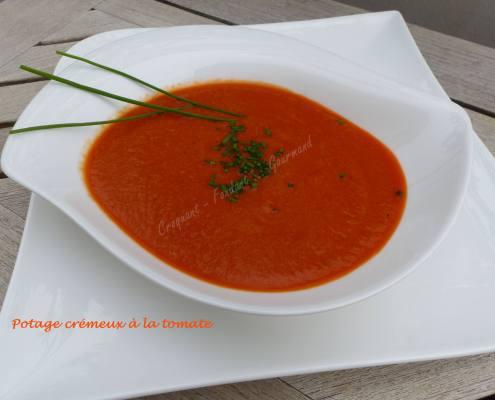 Potage crémeux à la tomate P1010769