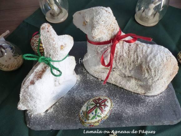 Lamala ou Agneau de Pâques de Bernard P1020729