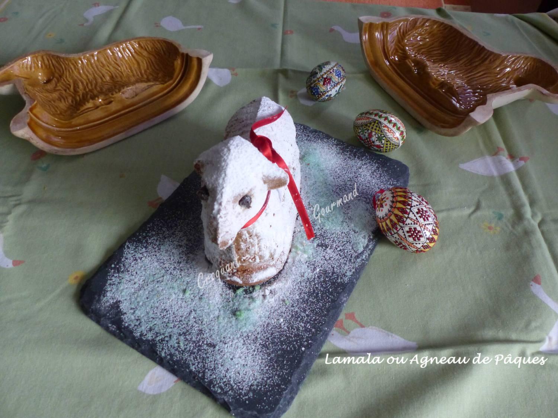 Lamala ou Agneau de Pâques de BernardP1020620